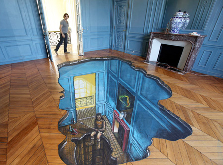 3d street paintings for 3d bathroom drawing