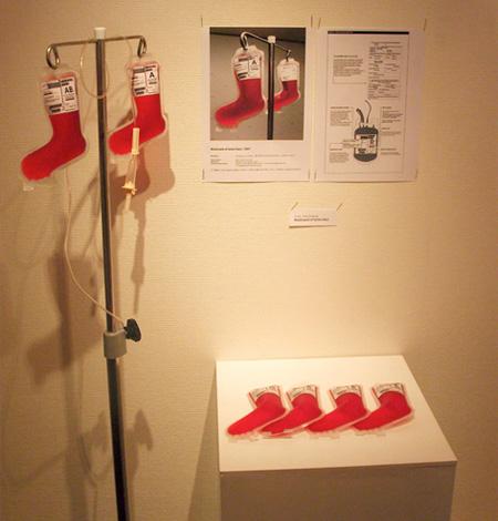 Santa Claus Blood Bags