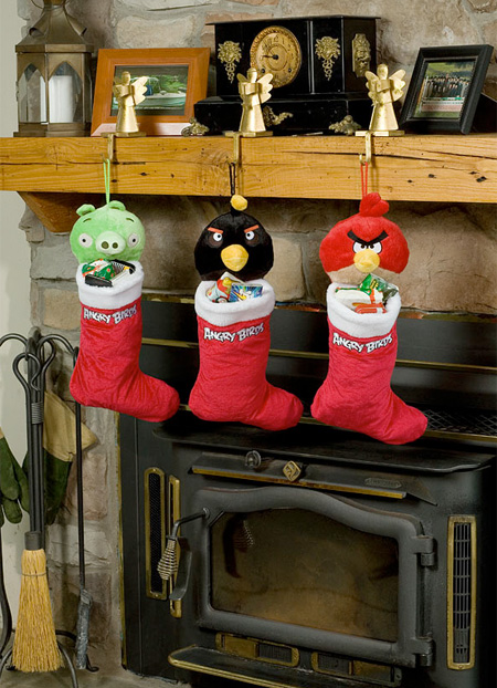 Angry Birds Stockings