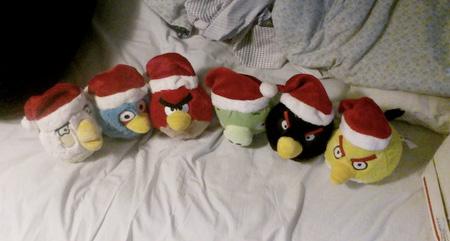Angry Birds Christmas Toys