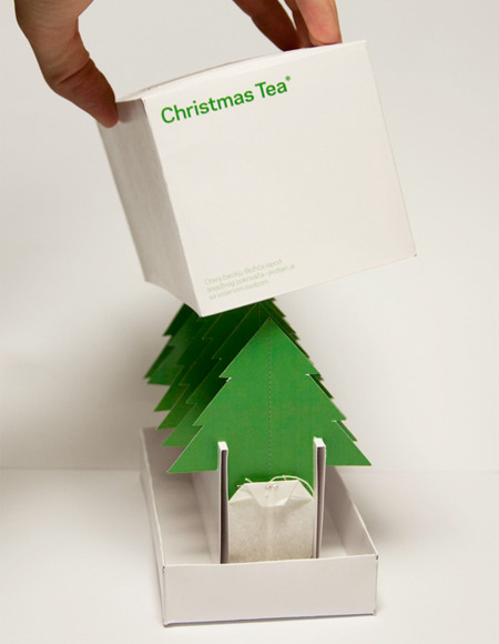 Christmas Tea Packaging