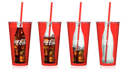 Coca-Cola Transparent Cup