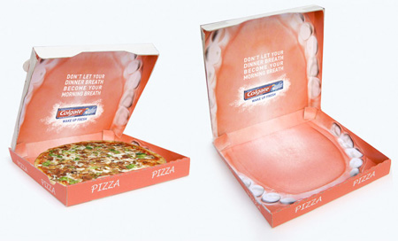 Mouth Pizza Box