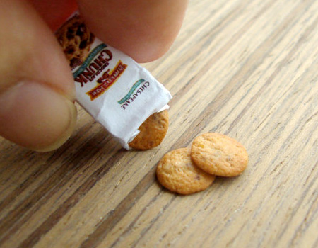 Miniature Chocolate Chip Cookies