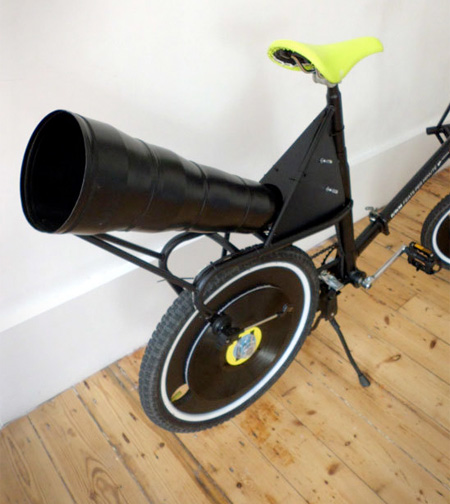 Bicycle Plays Music