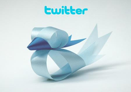 Twitter Bird Ribbon