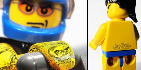 Tattooed LEGOs