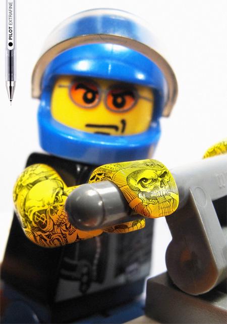 LEGOs with Tattoos