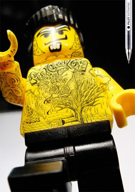 Pilot Extrafine LEGO