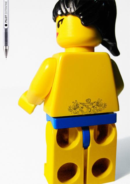 Pilot Extrafine Pen LEGO