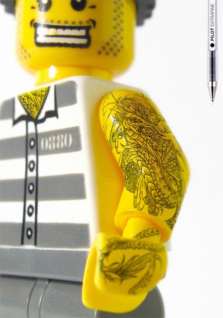 LEGO Tattoos