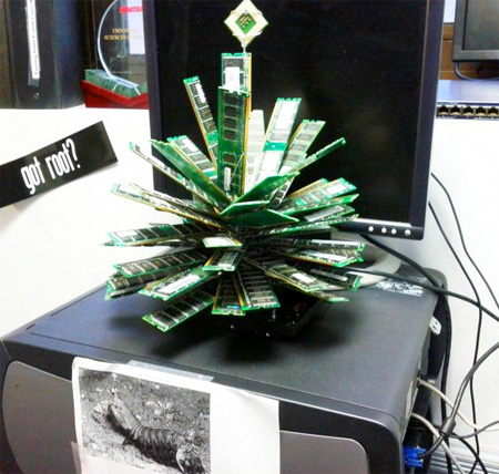 RAM Christmas Tree