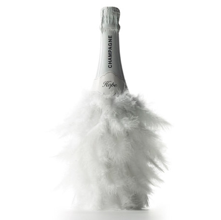 Zarb Feathers Champagne