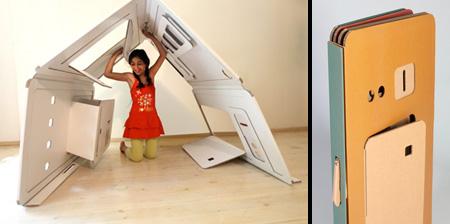 Cardboard Playhouse