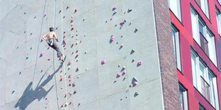 Rock Climbing Building