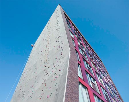 Climbing Wall Dormitory