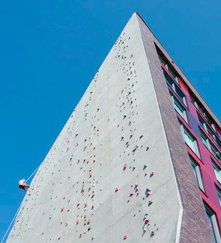 Climbing Wall Building