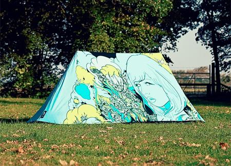 Art Camping Tent