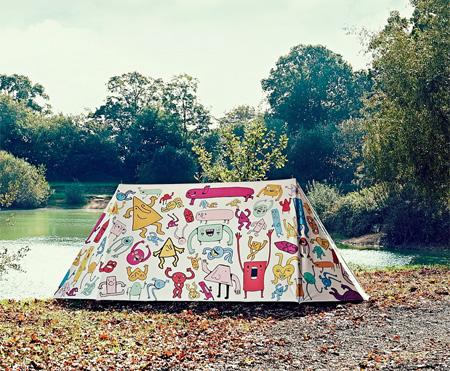 Designer Camping Tent