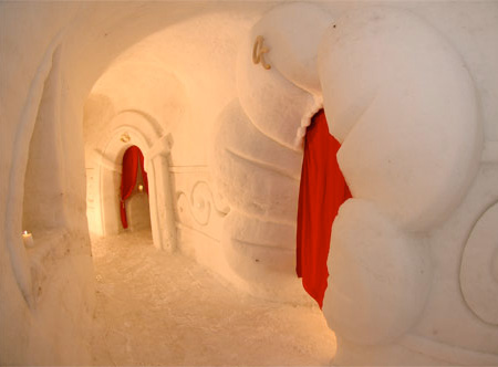 Igloo Interior