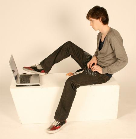 Erik De Nijs Keyboard Pants