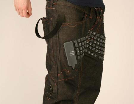 Keyboard Jeans