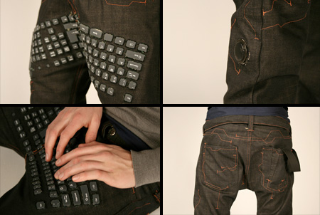Computer Keyboard Jeans