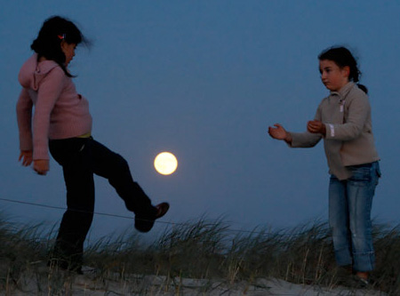 Playing with the Moon