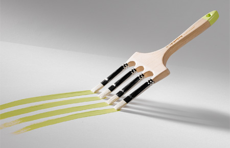 Innovative Paintbrush
