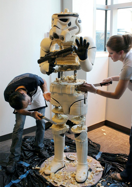 Edible Stormtrooper