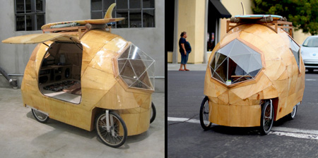 Electric Camper Car