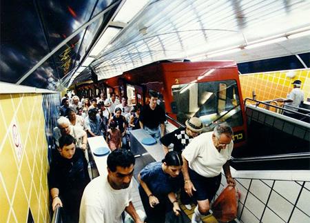 Carmelit Subway
