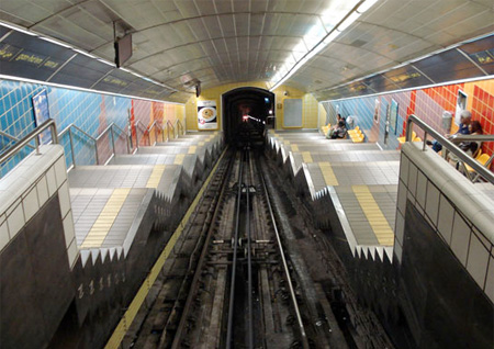 Uphill Subway