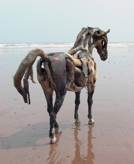 Driftwood Horse by Heather Jansch