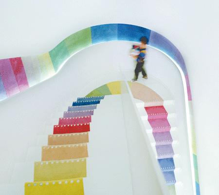Bookstore Staircase