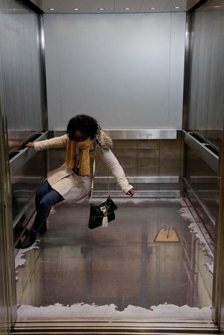 Lift Optical Illusion