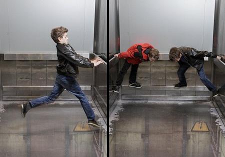 Bottomless Lift 3D Illusion