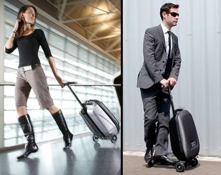 Micro Samsonite Luggage Scooter