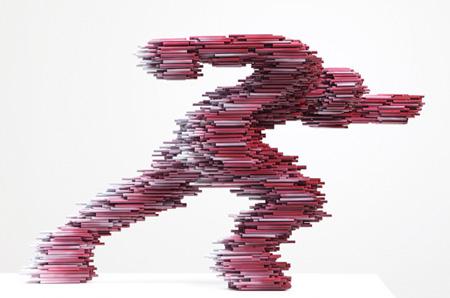 Kang Duck-Bong Pipe Sculpture