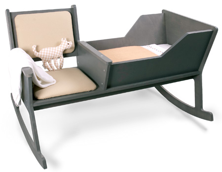 Rocking Chair Baby Cradle