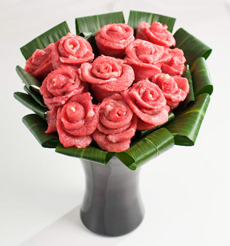 Meat Roses