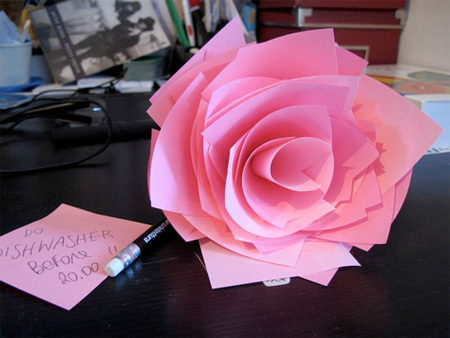 Post-it Rose