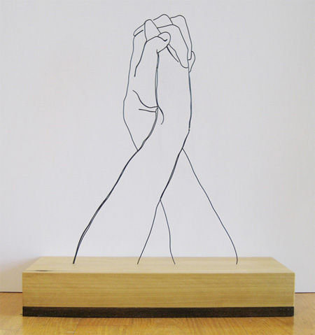 Gavin Worth Wire Sculpture