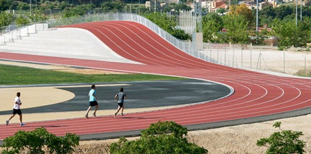 3D Athletics Track