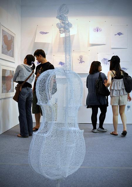 3D Wire Sculpture