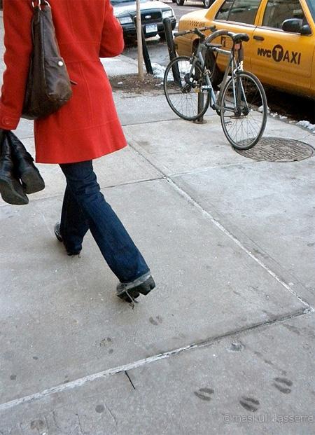Maskull Lasserre Animal Footprint Shoes