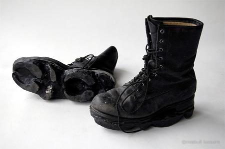 Maskull Lasserre Footprint Shoes