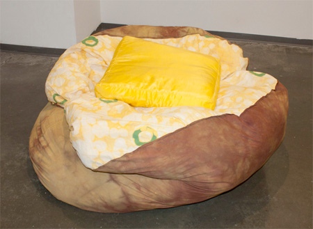 Baked Potato Beanbag