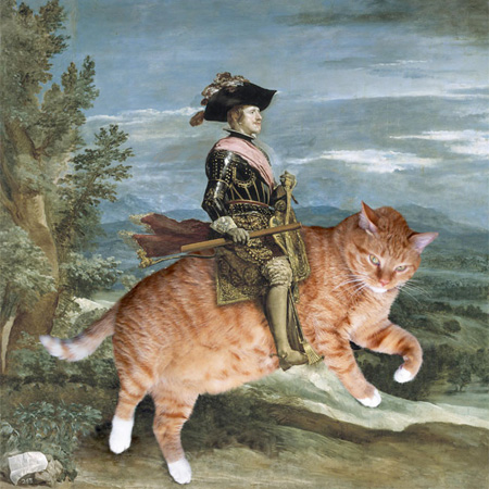 Improving Art with Cats