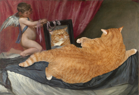 Cats Improve Paintings